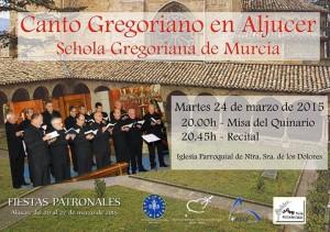 2014 03 24 Schola Gregoriana de Murcia