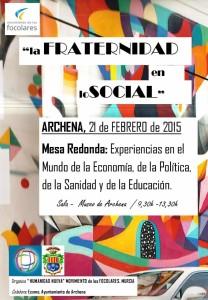 2015 02 21 La Fraternidad en lo social