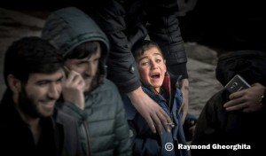 sirian child with signature