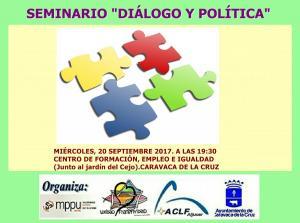 2017 10 01 seminario dialogo y politica