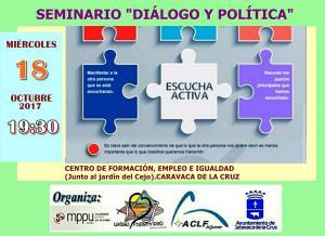 2017 11 05 seminario dialogo y politica